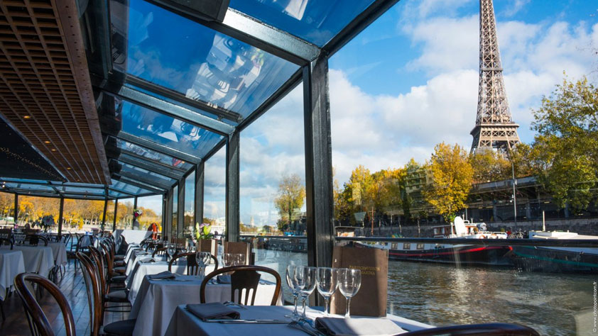 Déjeuner croisière sur la Seine